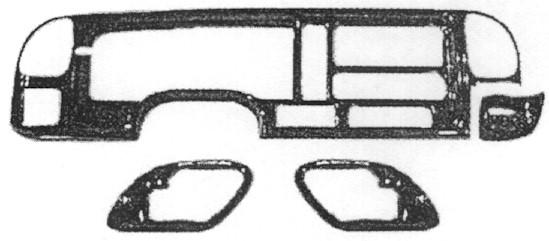 Wood Accessories for Conversion Vans Repair Work