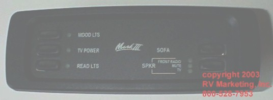 Van Accessories Parts Switches Mark III Iii