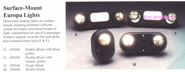 Van Conversions Interior Lights